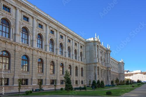 Foto op Canvas Wenen Historisches Gebäude am Burgring in Wien