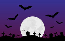 Halloween Scary Vector Illustr...
