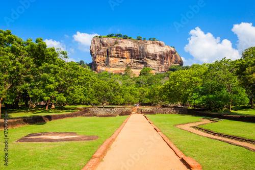 Fotografie, Obraz Sigiriya Rock, Sri Lanka
