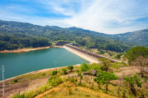 Fototapeta Kotmale Dam, Sri Lanka