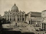 Św. Piotra w Watykanie ok. 1890 (ze Spamer's Illustrated World History, 1894, 5 [1], 122/123) - 175743258