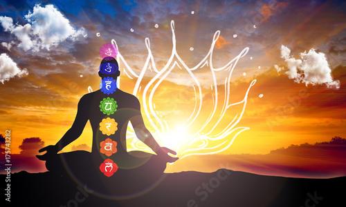 Photo  Meditation flower