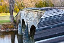 Historic Burnside Bridge On Antietam Battlefield