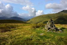 Stone Cairn On Souther Fell