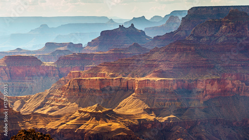 Printed kitchen splashbacks Eggplant Grand Canyon South Rim as seen from Desert View, Arizona, USA