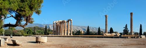 Photo  Temple of Zeus panorama
