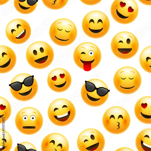 emoji-seamless-pattern-vector-smiley-face-character-illustration-on-white