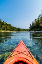 Canoe Sur La Rivière Bonavent...