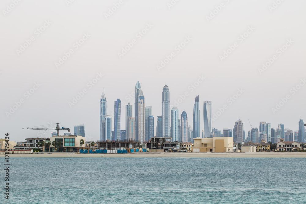 Photo & Art Print Skyline of Dubai, UAE   EuroPosters