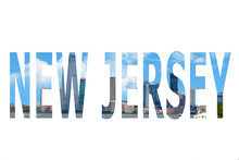 The Word New Jersey In The Symbol