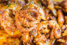 Stir-fried Spicy Octopus