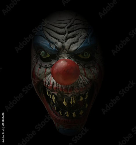 Canvas-taulu scary clown