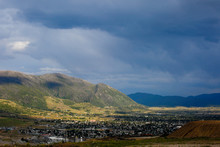 Storm Clouds Over Butte Montana