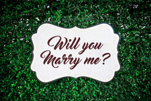 Will You Marry Me?, Love Sign ...