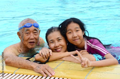 Photo  swimming pool