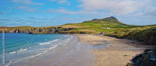 Fototapeta Whitesands Bay in Pembrokeshire, Wales, UK