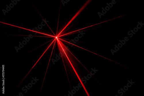 Slika na platnu Laser beam light effect
