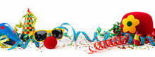 Party Or Carnival Banner With Fancy Dress