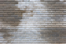 Background Texture Of Wet Grey Brick Wall