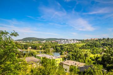 Fototapeta na wymiar Stausee in Brno Bistrz, Tschechische Republik