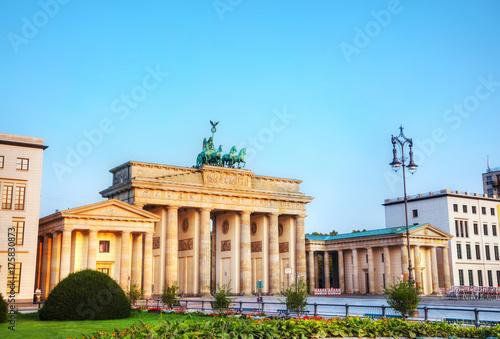 Zdjęcie XXL Brama Brandenburska w Berlinie, Niemcy
