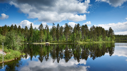 Beautiful Finnish landscape