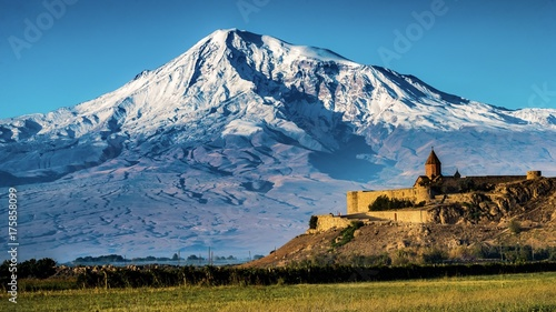Ararat and Khor Virap, Armenia
