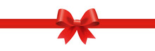 Gift Decoration Red Ribbon - S...