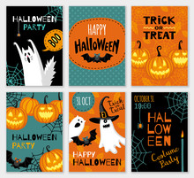 Collection Of Halloween Banner...