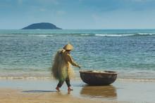 Unidentified Fishermen Is Work...