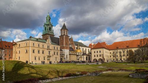 Obraz na dibondzie (fotoboard) Miasto Kraków, Polska, Wawel, Stare Miasto