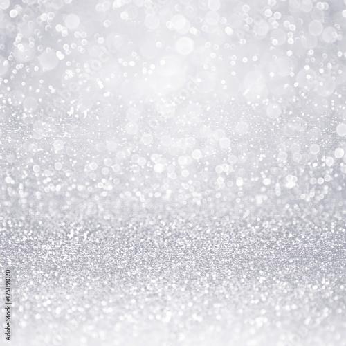 Abstract silver glitter sparkle confetti background for winter abstract silver glitter sparkle confetti background for winter christmas snowfall 25th anniversary or shiny wedding stopboris Gallery