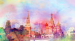 Photo view of the Moscow Kremlin