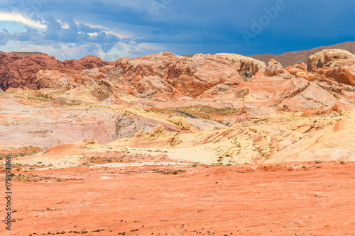 Papiers peints Corail amazing sandstone shapes at valley of fire national park, nevada
