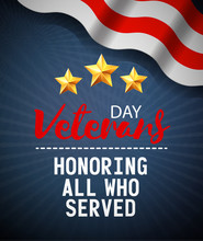 Veterans Day Greeting Card Des...