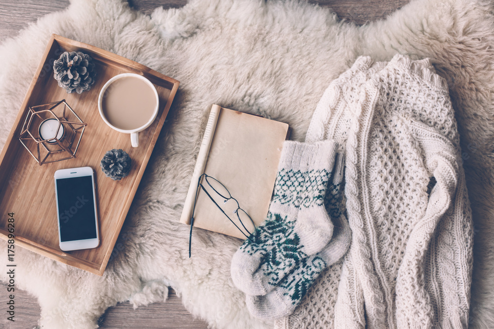 Fototapety, obrazy: Winter weekend concept