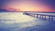 romantischer Abend am See