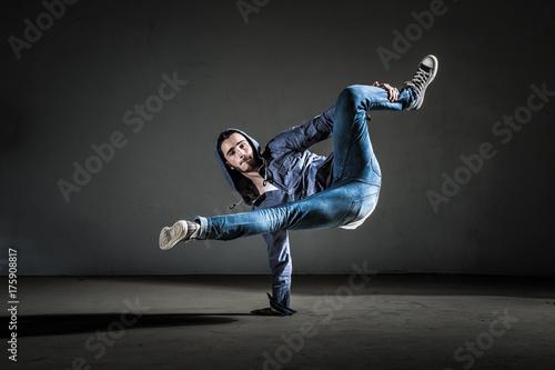 Danseur breakdance et hip hop moderne Wallpaper Mural
