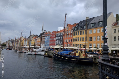 Copenhague Nyhavn Poster