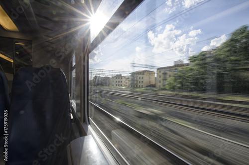 Plakat Punkt widzenia pasażera