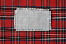Tekstura Tkaniny świątecznej
