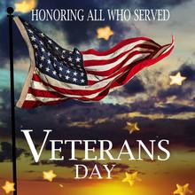 United States Flag. Veterans D...