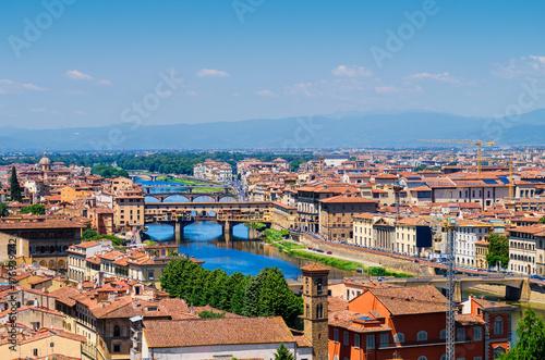 Obraz na dibondzie (fotoboard) Florencja miasto panorama tło