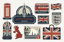 Vector Set Of British Symbols,...