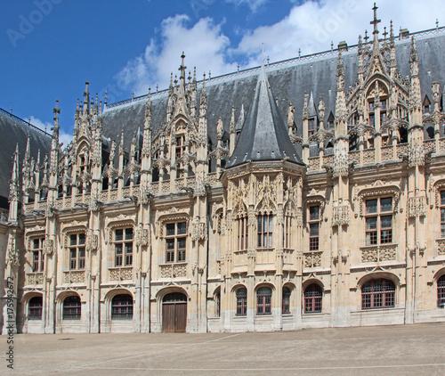 Obraz na plátně palais de justice de Rouen