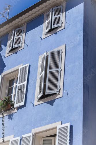 Haus Fassade Blau Buy This Stock Photo And Explore Similar Images