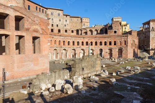 Zdjęcie XXL Rynek Trajana, Rzym, Włochy