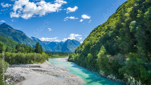 Soca river, Bovec Slovenia