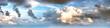 Leinwandbild Motiv Sky clouds art sunrise background
