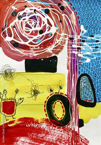 abstrakcyjne-malowidla